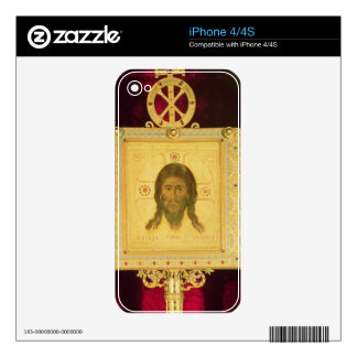 The Holy Face, 1249 (panel) Decals For iPhone 4