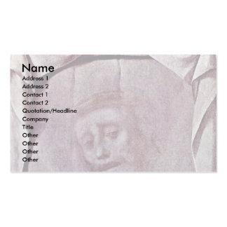 The Holy Face (Christ'S Veil Veil Of St. Veronica. Business Card Templates