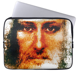 THE HOLY FACE LAPTOP COMPUTER SLEEVE
