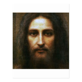 The Holy Face of Jesus Devotional Image. Postcard