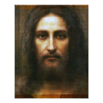 THE HOLY FACE OF JESUS, PHOTO PRINT