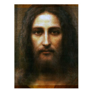 THE HOLY FACE OF JESUS POSTCARD