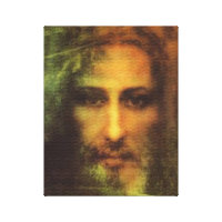 THE HOLY FACE OF OUR LORD AND SAVIOR, JESUS CHRIST CANVAS PRINT