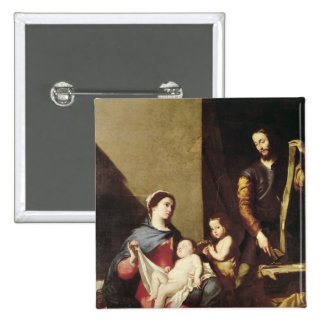 The Holy Family, 1639 Button