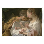 The Holy Family, 18th century Greeting Card
