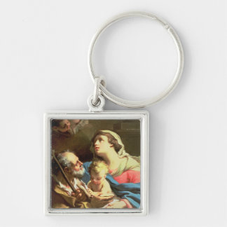 The Holy Family, 18th century Key Chain