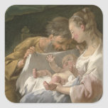 The Holy Family, 18th century Sticker