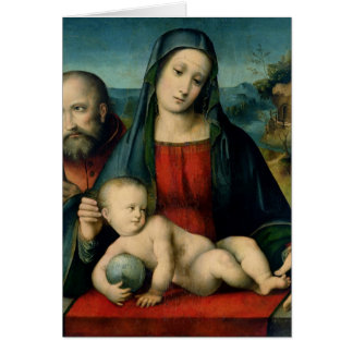 The Holy Family 2 Card