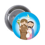 The Holy Family 2 Inch Round Button