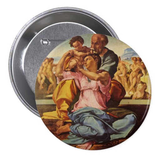The Holy Family 3 Inch Round Button