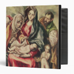 The Holy Family 3 Ring Binder