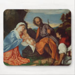 The Holy Family and a Shepherd, c.1510 Mouse Pad