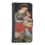 The Holy Family around a Fire, c.1532-33 iPhone SE/5/5s Wallet Case