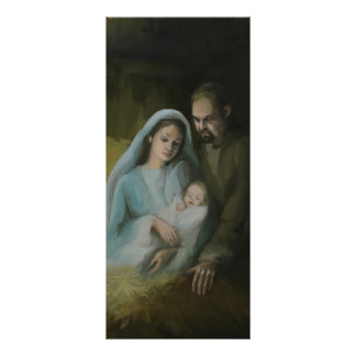 The Holy Family Bookmark Rack Card