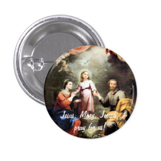The Holy Family Button