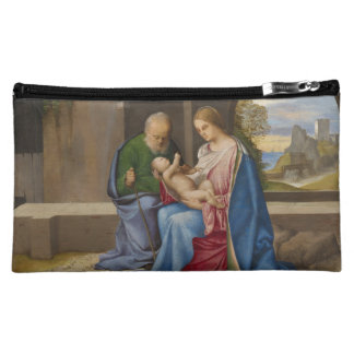 The Holy Family by Giorgione Cosmetic Bag