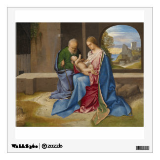 The Holy Family by Giorgione Wall Sticker
