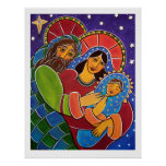 The Holy Family by Jan Oliver Print