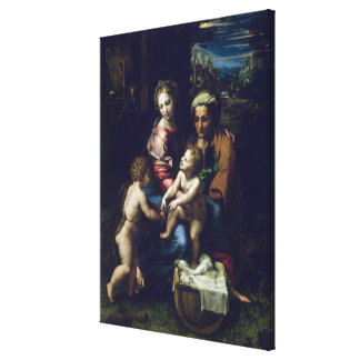The Holy Family  c.1518 Canvas Print