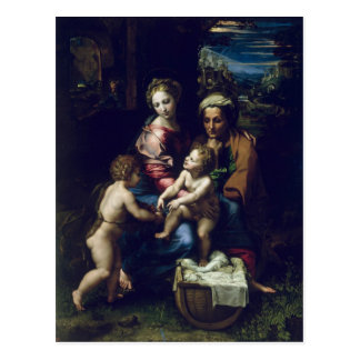 The Holy Family  c.1518 Postcard