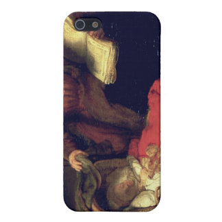 The Holy Family, c.1645 iPhone SE/5/5s Case