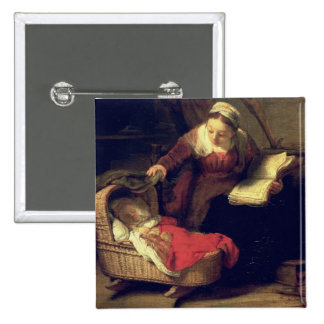 The Holy Family, c.1645 Pinback Button
