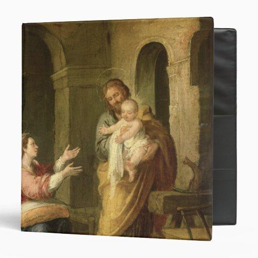 The Holy Family, c.1660-70 Vinyl Binders