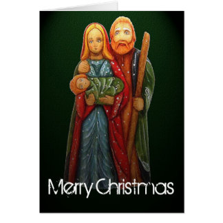 The Holy Family Christmas Card