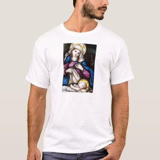 The Holy Family Depicting Madonna and Child T-Shirt