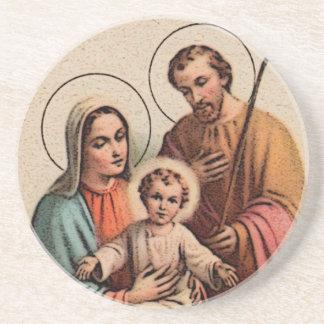 The Holy Family - Jesus, Mary, and Joseph Coaster
