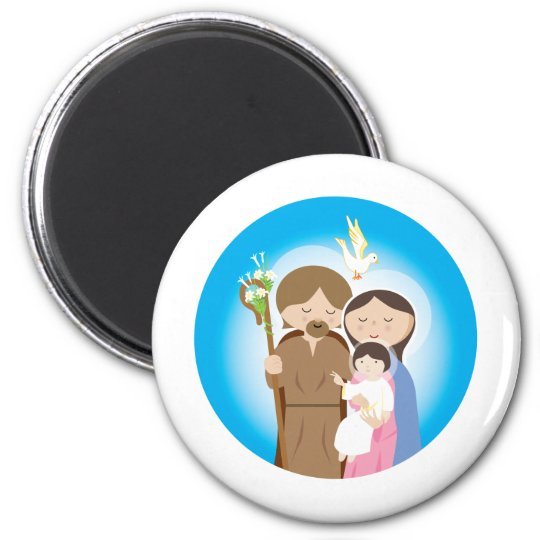 The Holy Family Magnet
