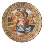 The Holy Family Melamine Plate
