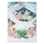 The Holy Family of Shiva and Parvati Greeting Card