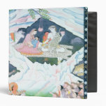 The Holy Family of Shiva and Parvati Vinyl Binder