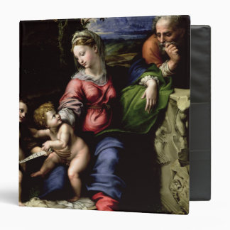 The Holy Family of the Oak Tree, c.1518 3 Ring Binder