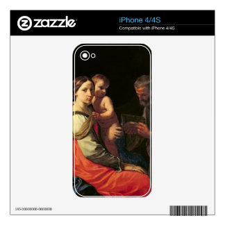 The Holy Family (oil on canvas) 2 Decal For The iPhone 4S
