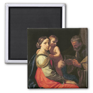 The Holy Family (oil on canvas) 2 Magnet
