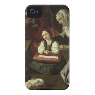 The Holy Family (oil on canvas) (for details see 9 iPhone 4 Case