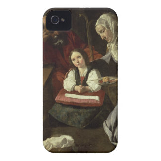 The Holy Family (oil on canvas) (for details see 9 iPhone 4 Case-Mate Case