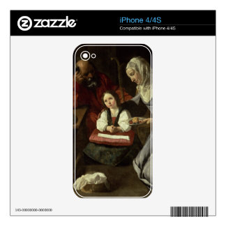 The Holy Family (oil on canvas) (for details see 9 iPhone 4 Skin