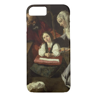 The Holy Family (oil on canvas) (for details see 9 iPhone 7 Case