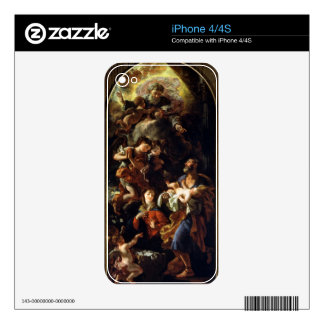 The Holy Family (oil on canvas) iPhone 4S Decal