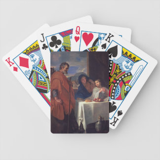 The Holy Family, or The Grace (oil on canvas) Bicycle Playing Cards