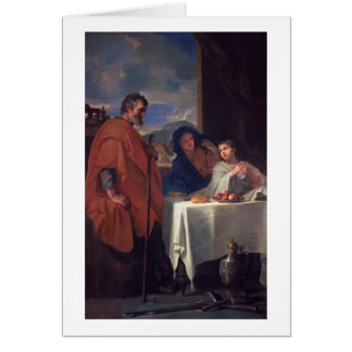 The Holy Family, or The Grace (oil on canvas) Card