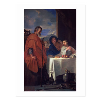 The Holy Family, or The Grace (oil on canvas) Postcard