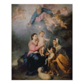 The Holy Family or The Virgin of Seville Posters
