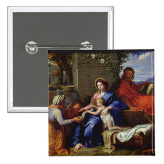 The Holy Family Pinback Button