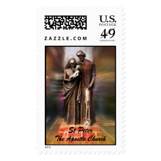 The Holy Family Postage Stamp