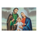 The holy family posters