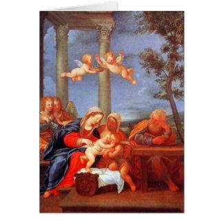 The Holy Family (Sacra Famiglia) Card